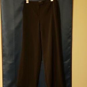 Silky black work pants